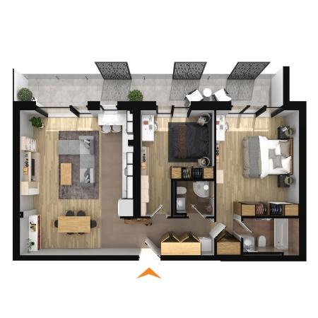 Apartamente 3 camere în imobil B2